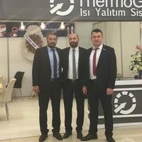 Photo taken at Tüyap Samsun Fuar ve Kongre Merkezi by Erdem P. on 3/25/2018