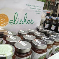 Photo taken at Eliskos Greek Nomz @ Harringay Market by SykoFantiS B. on 1/6/2013