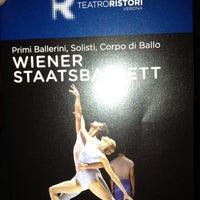 Photo taken at Teatro Ristori by Federico B. on 5/10/2013