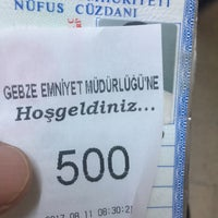 Photo taken at Gebze Emniyet Müdürlüğü by 💔Sercan💔 G. on 8/11/2017