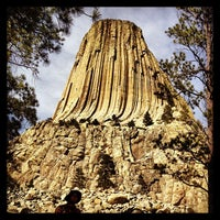 Photo taken at Devils Tower National Monument by Richard T. on 6/14/2013