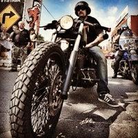 Photo taken at Harley Davidson Šalamounka Club by Radim M. on 6/11/2013