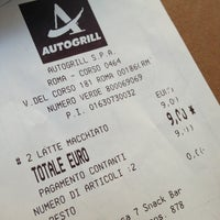 Photo taken at Autogrill by Mane m. on 6/9/2013