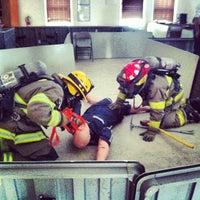 Photo taken at Burton Volunteer Fire Department by Rachel H. on 1/26/2013