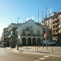 Photo taken at Ajuntament de Cerdanyola by Lu B. on 1/28/2015