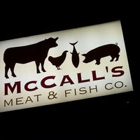Photo taken at McCall's Meat & Fish Company by Patrick on 2/5/2013