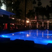 Photo taken at The Hollywood Roosevelt by Patrick on 2/6/2013