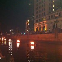 Photo taken at WaterFire Providence - Waterplace Park by Deborah S. on 8/11/2013