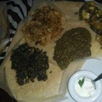Photo taken at Mogogo - Eritrees Specialiteiten Restaurant by Deborah S. on 4/3/2014