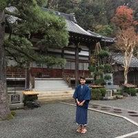 Photo taken at 本住寺 by Tumuchin (. on 12/7/2016