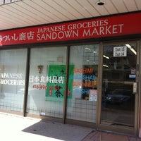 Photo taken at Sandown Market Japanese Groceries by Agnes L. on 4/20/2013
