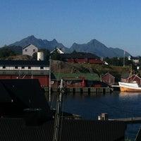 Photo taken at Ballstad by April B. on 7/26/2013