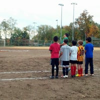 Photo taken at Forest Hills Soccer by jose b. on 11/1/2013