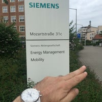 Photo taken at Siemens by Ulas O. on 6/1/2016