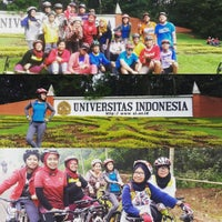 Photo taken at Bunderan Universitas Indonesia by Anthie D. on 5/22/2016