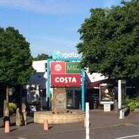 Photo taken at Trowell Southbound Motorway Services (Moto) by Ellen L. on 6/6/2014