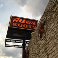 Photo taken at Allens Boots by Hello K. on 8/25/2013