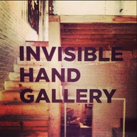 Photo taken at The Invisible Hand Gallery by Adam S. on 2/11/2013