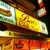 Photo taken at Ben's Chili Bowl by Emil C. on 10/5/2012