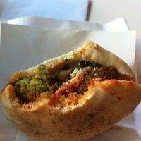 Photo taken at Hakosem Falafel by Ariel T. on 12/2/2012