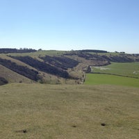Photo taken at Dunstable Downs by Ross T. on 4/20/2013