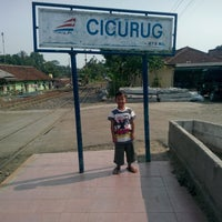 Photo taken at Stasiun Cicurug by aziz setyadina P. on 10/17/2015