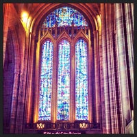 Photo taken at Liverpool Cathedral by Arleen B. on 6/3/2013