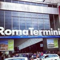 Photo taken at Roma Termini Railway Station (XRJ) by ✈✈ Mhmtali. ✈✈ on 7/26/2013