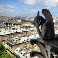 Photo taken at Cathedral of Notre Dame de Paris by ✈✈ Mhmtali. ✈✈ on 5/28/2013
