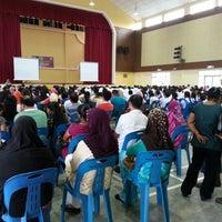 Photo taken at SMK Bandar Setia Alam by Nurhayati Y. on 12/31/2012