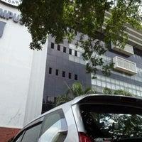 Photo taken at Kampus J Universitas Gunadarma by Satrio P. on 10/9/2012
