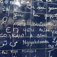 """Photo prise au Le Mur des """"Je t'aime"""" par Sasha P. le7/21/2013"""