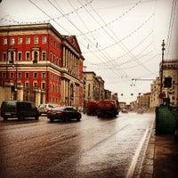 Снимок сделан в Тверская улица пользователем Андрей М. 4/4/2013