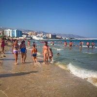 Photo taken at Spiaggia Castello by Андрей М. on 8/12/2014