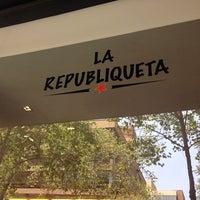 Photo taken at La Republiqueta by Katherine A. on 1/17/2014