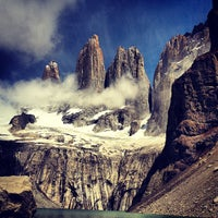 Photo taken at Parque Nacional Torres del Paine by Daniel B. on 12/28/2012