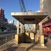 Photo taken at Dobutsuen-mae Station (M22/K19) by Akihiko K. on 11/16/2017