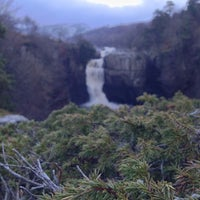 Photo taken at High Force Waterfall by Jonny F. on 12/29/2013