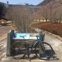 Photo taken at 松田川ダム by kazu h. on 4/3/2017