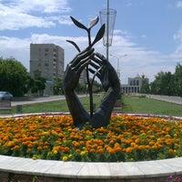 Photo taken at Площадь Конституции by Elena P. on 7/8/2013