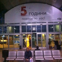 Photo taken at Автобуска станица Скопје / Skopje Bus Station by Ivan L. on 5/14/2013