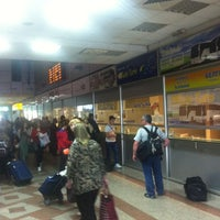 Photo taken at Автобуска станица Скопје / Skopje Bus Station by Ivan L. on 5/12/2013