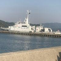 Photo taken at 青海島シーサイドスクエア by taisa on 4/30/2017