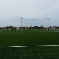 Photo taken at Richmond Green Sports Centre & Park by PNagpal on 4/28/2013