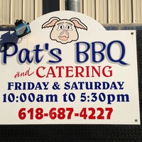 Photo taken at Pat's BBQ by Reid B. on 12/21/2012