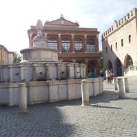 Photo taken at Fontana della Pigna by Gabriele Z. on 10/16/2012