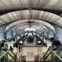 Photo taken at Suvarnabhumi Airport (BKK) by Xander L. on 11/4/2013