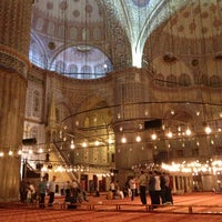 Photo taken at Blue Mosque by Kenan A. on 6/27/2013