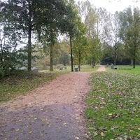 Photo taken at Haarlemmermeerse Bos Kleine Meer by Michel N. on 10/13/2012