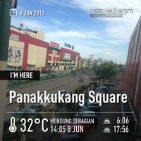Photo taken at Panakkukang Square by Iphank A. on 6/8/2013